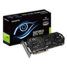 Placa de Video NVIDIA GeForce GTX 980 4 GB GDDR5 256 Bits Gigabyte GV-N980WF3OC-4GD