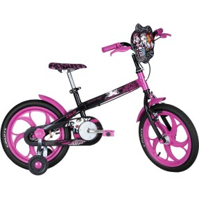 Bicicleta Caloi Aro 16 Monster High