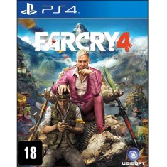 Jogo Far Cry 4 PS4 Ubisoft