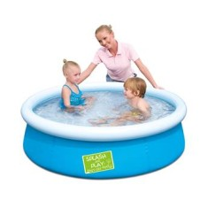 Piscina Inflável 477 l Redonda Bestway Fast Set Colors