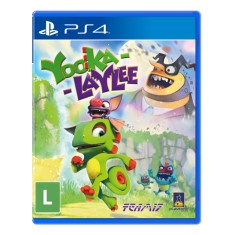 Jogo Yooka-Laylee PS4 Playtonic Games
