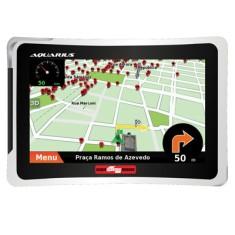 GPS Automotivo Aquarius Guia Quatro Rodas Connect MTC4553 5,0 ""