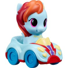 Boneca My Little Pony Rainbow Dash Playskoll Friends Veículo Hasbro