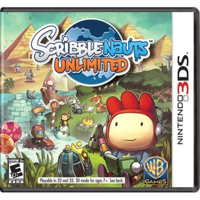 Jogo Scribblenauts Unlimited Warner Bros Nintendo 3DS
