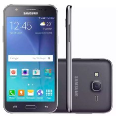 Smartphone Samsung Galaxy J5 8GB J500MDS 13,0 MP 2 Chips Android 5.1 (Lollipop) 3G 4G Wi-Fi