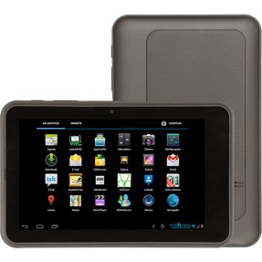 "Tablet Lenoxx Sound 8 GB 7"" Wi-Fi 3G Android 4.0 (Ice Cream Sandwich) 2 MP TB-120"