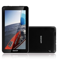 "Tablet Semp Toshiba 8GB LCD 7"" Android 4.4 (Kit Kat) 2 MP TA0761WP"