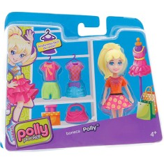 Boneca Polly Super Fashion Cbw79/CGJ01 Mattel
